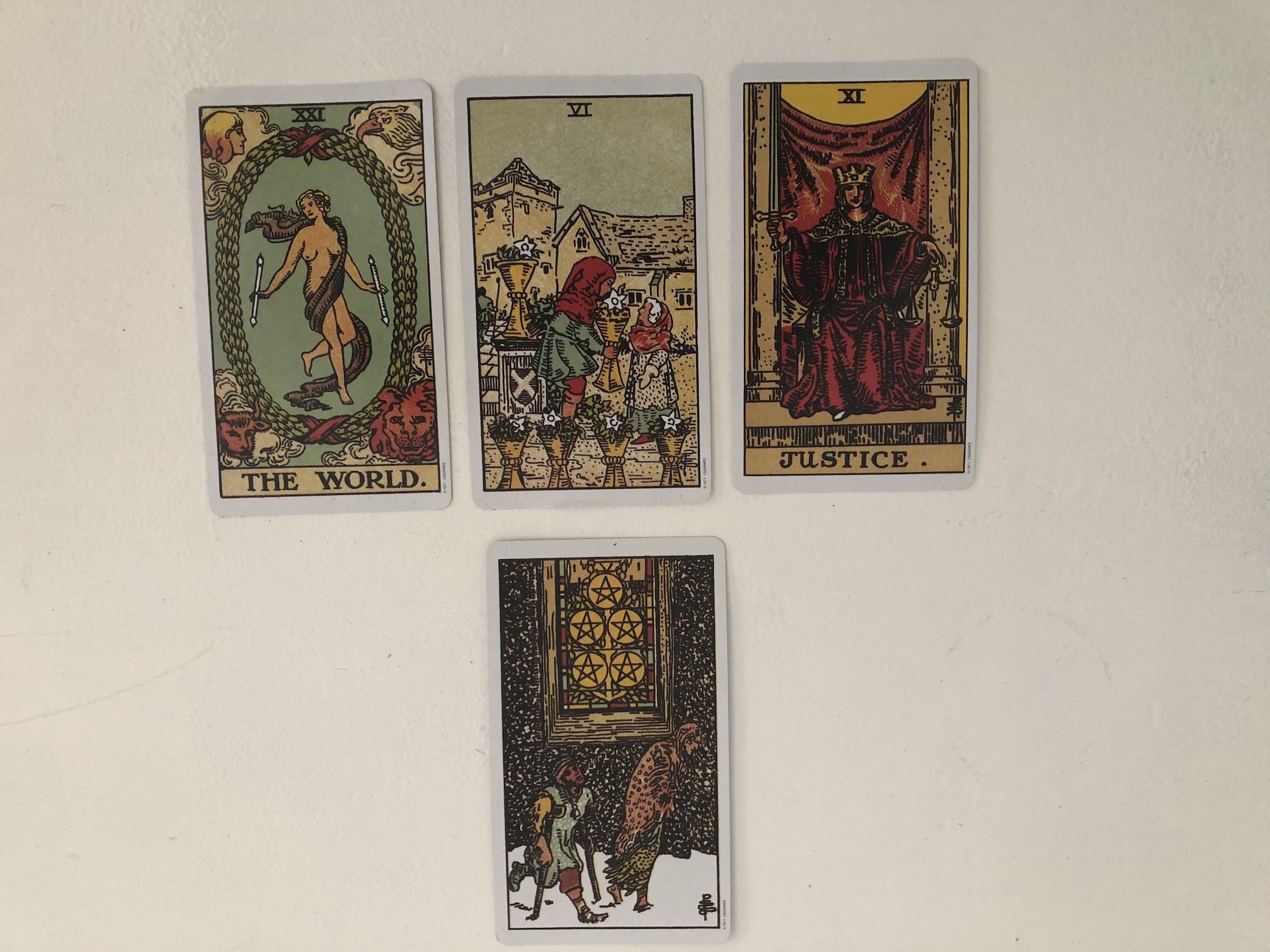 Tarot Cards Oct 2020 Landscape