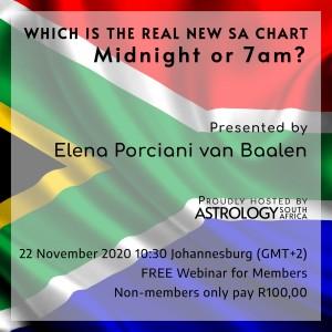 ASA - The Real SA Chart - Elena Porciani van Baalen - ticket